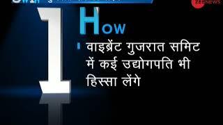 5W1H: PM Modi inaugurates the Vibrant Gujarat Summit - ZEENEWS