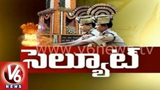 V6 Spot Light -Police Commemoration Day - V6NEWSTELUGU