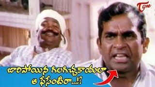 జారిపోయిన గిలగిచ్చకాయలా ఆ ఫేసేంటిరా  | Brahmanandam Hilarious Comedy Scenes Back to Back | NavvulaTV - NAVVULATV