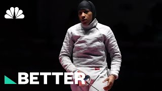 Ibtihaj Muhammad Defied Cultural Norms To Compete In The Olympics | Better | NBC News - NBCNEWS