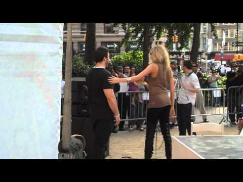 Kate Upton Dancing @ SoBe Event in NYC