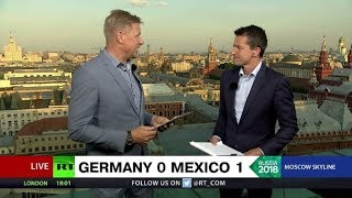 'They read the weaknesses...': Peter Schmeichel talks Germany vs Mexico - RUSSIATODAY