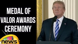 President Trump Hosts The Public Safety Medal Of Valor Awards Ceremony | Mango News - MANGONEWS