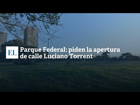 PARQUE FEDERAL: PIDEN LA APERTURA DE CALLE LUCIANO TORRENT