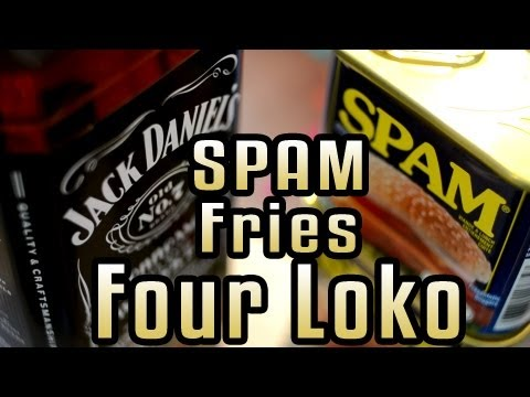 Spam Fries Four Loko - Epic Meal Time