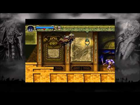 Let's Play Castlevania: SOTN (Walkthrough) - #4 Long Library and Unlocking Underground Caverns