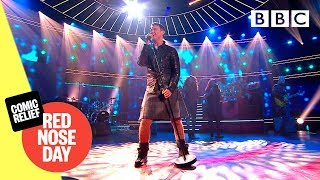 Marti Pellow in a kilt! | 'Love Is All Around' - Comic Relief 2019 - BBC