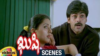 Pawan Kalyan Comforts Bhumika | Kushi Telugu Movie Scenes | Ali | Mango Videos - MANGOVIDEOS