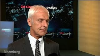 VW's Mueller: We're Looking Ahead Confidently - BLOOMBERG