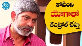 I Control My Anger By Doing Yoga And Meditation - Jagapathi Babu || Talking Movies With iDream - IDREAMMOVIES