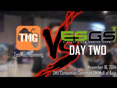 TooMuchGaming VS ESGS 2014 Day 2 (E-Sports and Gaming Summit) - 11/16/2014