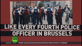 'Absent due to illness': Belgian police officers protest over pension reform and staffing issues - RUSSIATODAY