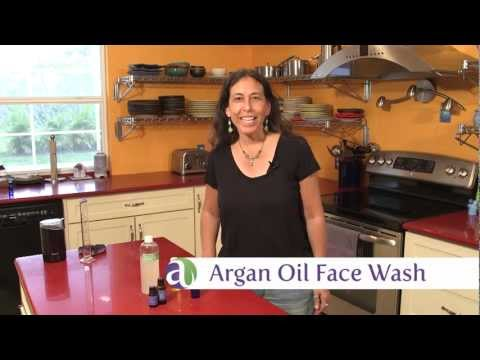 Aromatherapy Recipes: Make Your Own Argan Oil Face Wash