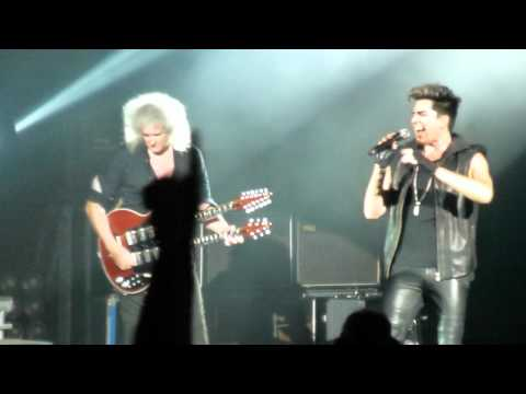 Under Pressure - Queen + Adam Lambert - HMV Hammersmith Apollo, London - Wednesday, 11th July 2012