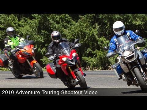 2010 Adventure Touring Shootout Video