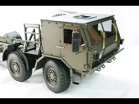 RC ADVENTURES - CAPO CD15821 8x8 All METAL Extreme Off Road Military Truck - UNBOXiNG