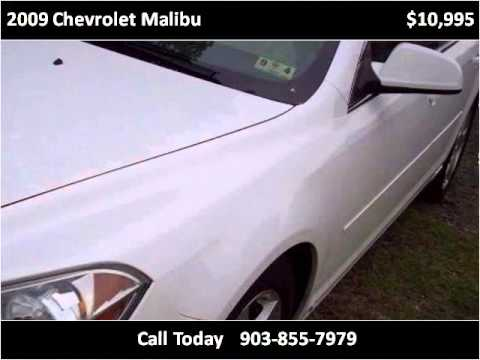 2009 Chevrolet Malibu Used Cars Pittsburg TX