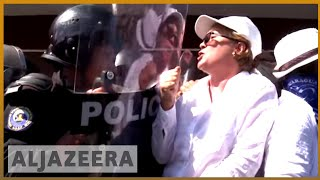 🇳🇮 Nicaragua unrest: Police quash anti-Ortega protest | Al Jazeera English - ALJAZEERAENGLISH
