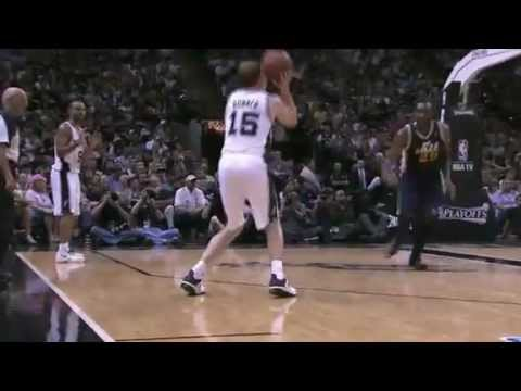 NBA Playoffs 2012: Utah Jazz Vs San Antonio Spurs Game 1 Highlights (0-1)