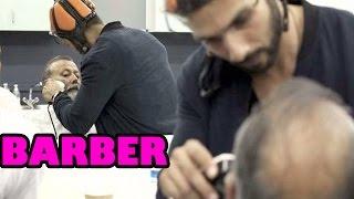 Shahid Kapur shaves his father's beard on sets! | Bollywood News