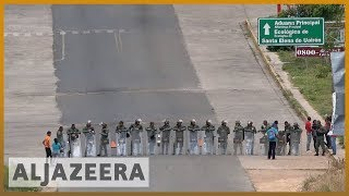 🇻🇪 Venezuela closes Colombia border as aid dispute turns deadly l Al Jazeera English - ALJAZEERAENGLISH