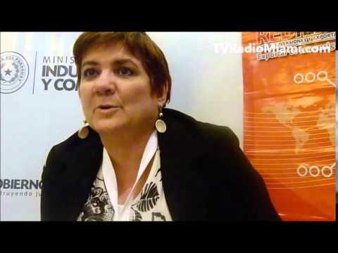 TVRadioMiami - Maria Luisa Almeida- Directora Promoción Comercial de REDIEX -PARAGUAY en Miami