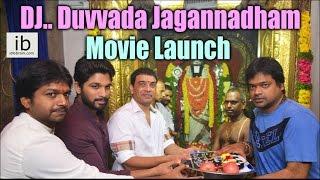Allu Arjun's DJ.. Duvvada Jagannadham Movie Launch - idlebrain.com - IDLEBRAINLIVE