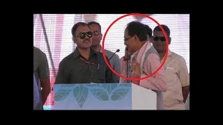 When CM Shivraj Singh Chouhan stopped speech midway to attend PM Modi's call - ABPNEWSTV