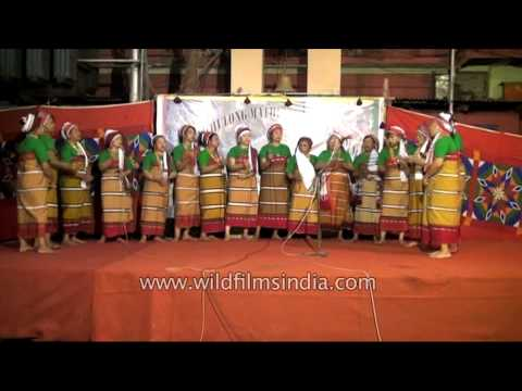 Tribal folk song of the Rongmei Naga