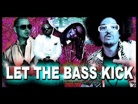 Chuckie ft. J.D., Lil Jon, LMFAO &amp; Pitbull - Let The Bass Kick (Remix) -hn1kqAqwh_U
