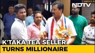 Tea Seller-Turned-Millionaire Contesting Karnataka Polls As Independent - NDTV