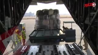 اتفرج | طائرات الجيش تقدم مساعدات للاجئين السوريين بلبنان