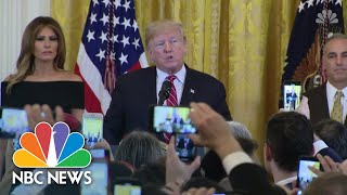 Trump Honors Parkland And Tree of Life Victims At Hanukkah Reception | NBC News - NBCNEWS