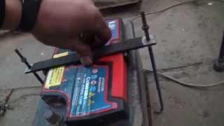 Изготовление крепления для аккумулятора своими руками