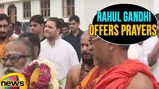 Congress President Rahul Gandhi Offers Prayers in Huligamma Temple in Koppal | Mango News - MANGONEWS