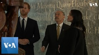 Harry and Meghan Pay Respects to New Zealand Victims - VOAVIDEO