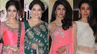 Bollywood Star's attire at Riddhi Malhotra's Reception | Bollywood News