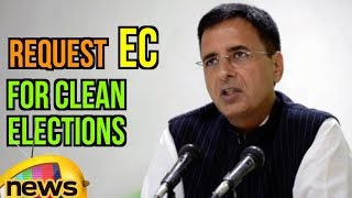 Randeep Surjewala Requests EC for Clean Elections, Discrepancies In Voters List In MP | Mango News - MANGONEWS
