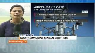 Countdown: Court Summons Maran Brothers - BLOOMBERGUTV