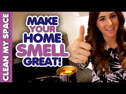 Here at home, make some real solutions for smell