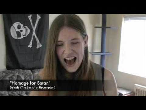Deicide Homage for Satan Vocal Cover