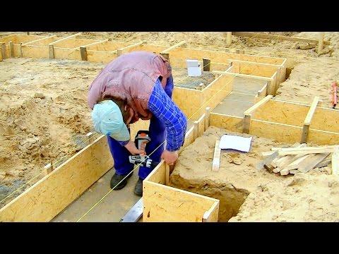 Construction d'une maison unifamiliale. Full HD. 2ème épisode. Coffrage de fondation
