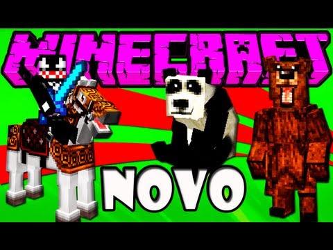 MO Creatures 1.4.2 - Pandas Insetos e Perus XD