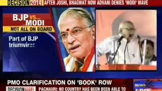 LK Advani denies Narendra Modi wave - NEWSXLIVE