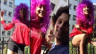 Shriya Cool Dance With Husband | Actress Shreya Saran Enjoying With Her Husband | - RAJSHRITELUGU