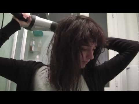 ASMR Blow Dryer Meets Hair