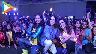Yami Gautam and International Zumba Icon Gina Grant Dancing Together at Promotional Event - HUNGAMA