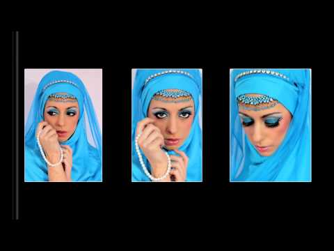 Arabian Bride - Blue Glitter Eyes