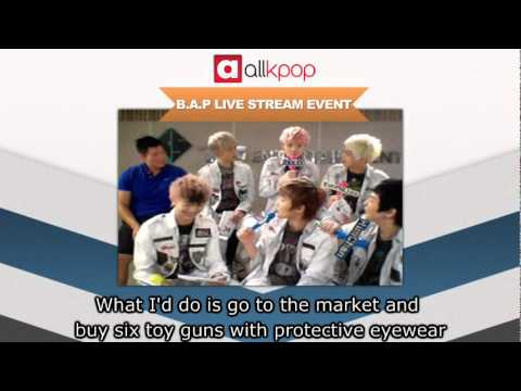 RELIVE IT: Exclusive B.A.P Live Stream on allkpop! [Part 5/5]