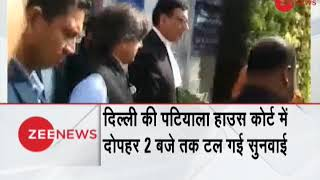 Breaking News: Sunanda Pushkar death case hearing adjourned till 2 PM - ZEENEWS